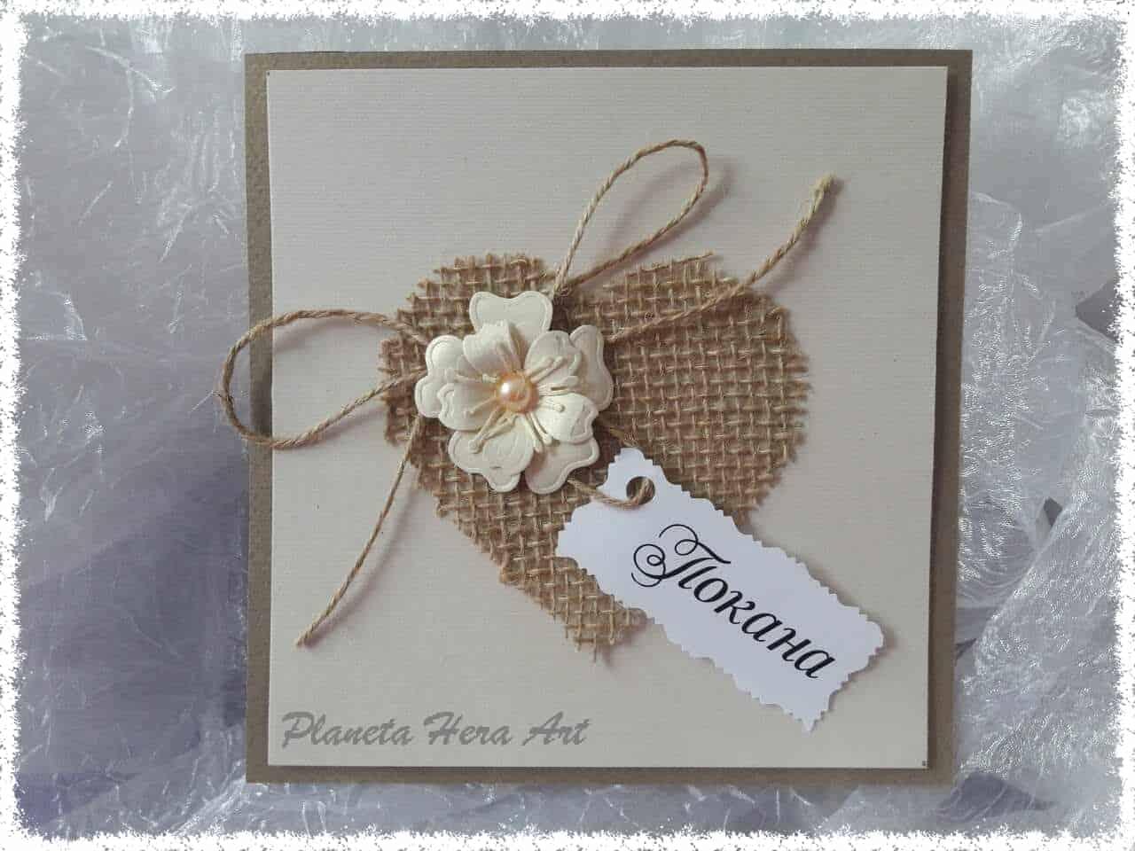 Сватбени покани ръчна изработка